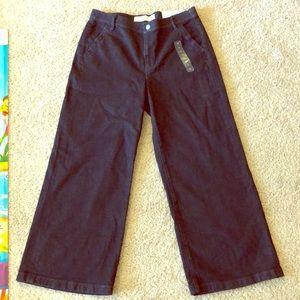 GAP Stretch Jeans Wide Leg High Rise size 31